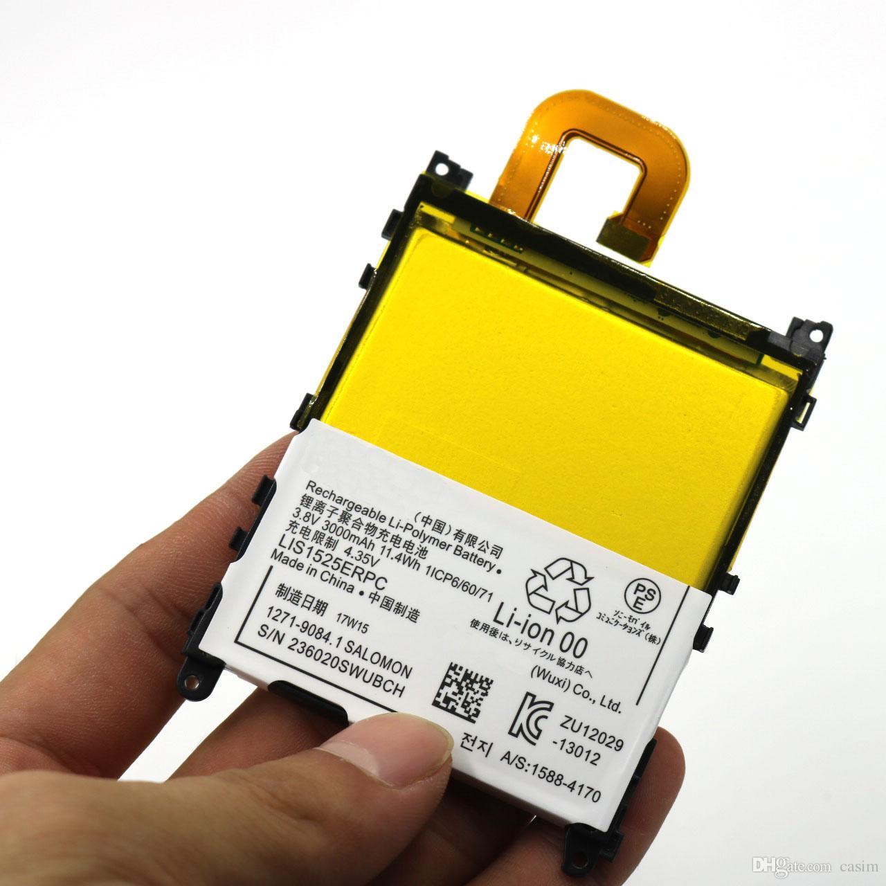 AAAAA batería para Sony XPERIA Z1 de alta calidad Li-ion Z1 L39H C6093 L36H Baterías de repuesto incorporadas
