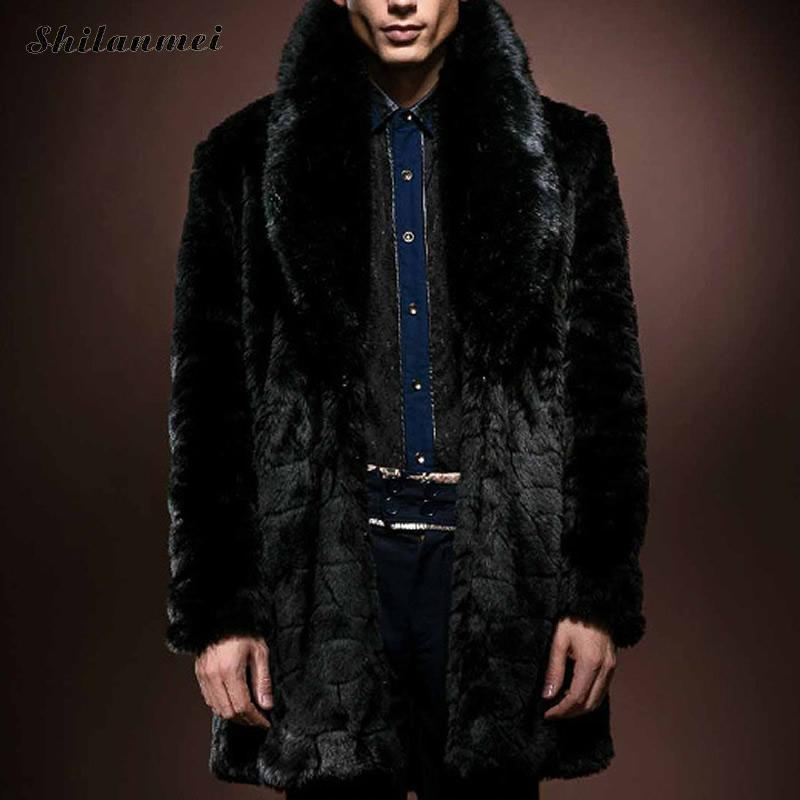 brand clothing erkek mont s to xxxl Artificial Wool Plus Size Men Coat mens coats overcoats ropa hombre wollen jas man overcoat