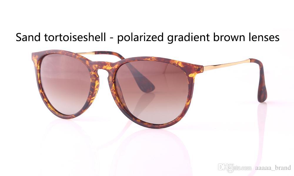 Olho de Gato do vintage Polarizada Óculos De Sol das mulheres dos homens Designer de Marca Óculos de Sol uv400 lente polaroid Oculos de sol com caixa de Varejo livre e etiqueta