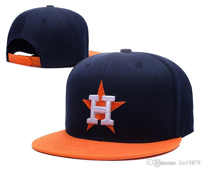 Compre 2018 New Masculino Astros H Carta Snapback Casquette Gorras Gorras  De Béisbol De Color Sólido Curvadas Ajustables Sombreros Bone Dad Caps A   7.75 Del ... d2cb0eb791f