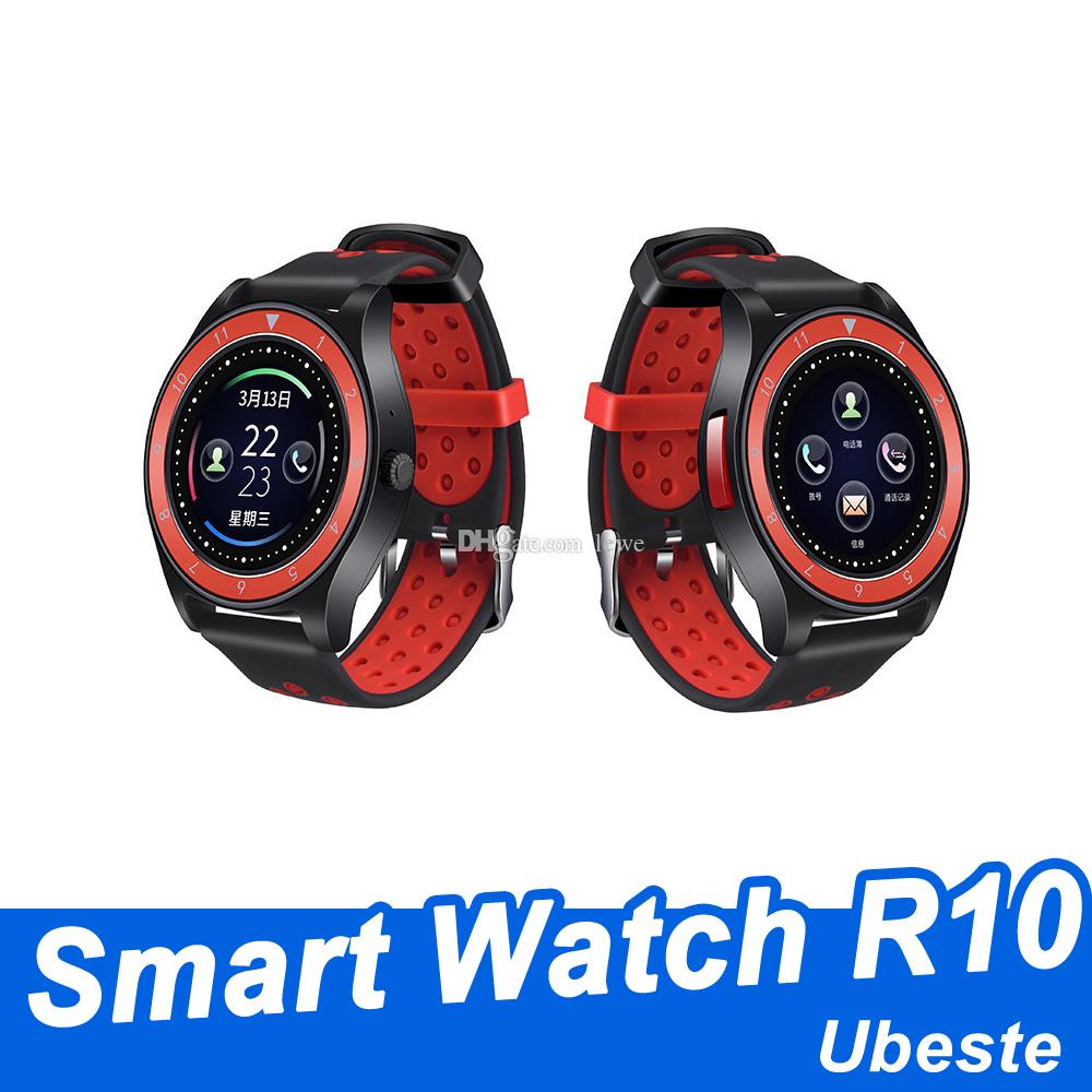 New smart watch R10 bluetooth smart watches sim card TF card smartwatch  phone 1 22inch 30W camera free shipping
