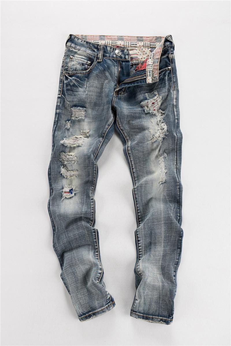 5c3e292d905 2019 Ripped Skinny Jeans Men Hole Ripped Skinny Mens Distressed Jeans Size  30 38 Ripped Skinny Jeans Men CHOLYL From Chenhanyang