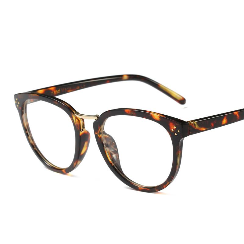 5678a56618a 2019 Luxury Brand Designer CE Elegant Round Frame Eye Glasses Frame 2666  Temple Rivets Smooth Finish Men Women Eyewear Small Face From Goodlines