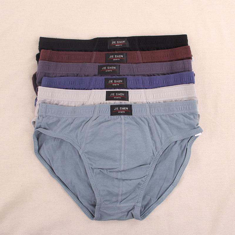 31a8cd393f2 2019 100% Cotton Mens Briefs Comfortable Man Underwear Plus Size From  Keviny, $21.35 | DHgate.Com