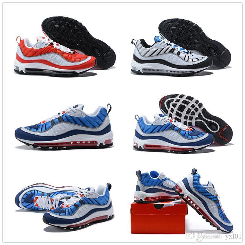 2018 New Model Arrival Fashion 98 Men'Shoes In High quality Men' 98s White Blue Red Black Outdoor Tn Shoes Sneakers Size 40-45 sale in China buy cheap price discount release dates cheap sale choice 7sMtsr