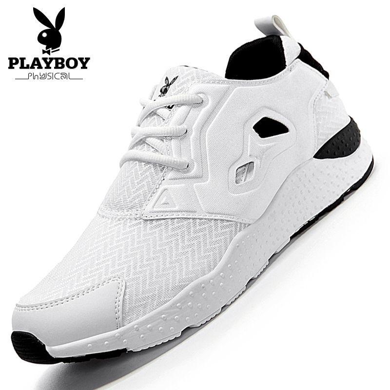 68c33af979 Compre Playboy Hombres Zapatos Moda 2016 Verano Cómodo Deporte Hombres  Zapatos Casuales Transpirable Plano Casual A  67.88 Del Feetlove