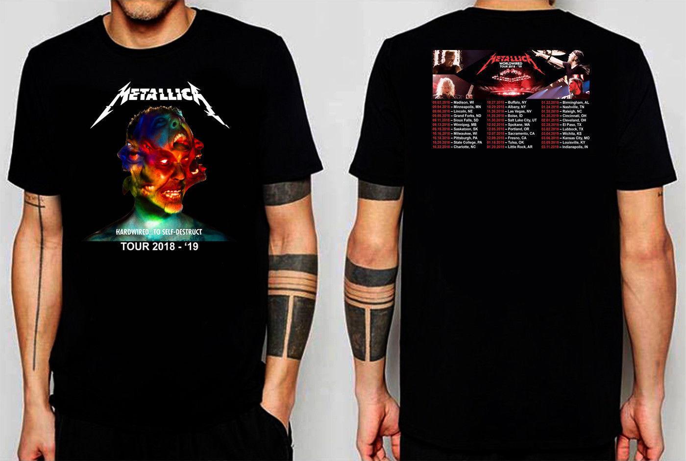 Compre PROMO AL POR MAYOR TOUR WorldWired 2018 2019 Camiseta Talla L A 4XL  Alta Calidad Hombres Camisetas 2018 Nuevos Hombres Manga Corta Argentina A   11.01 ... ecee7a9de3280