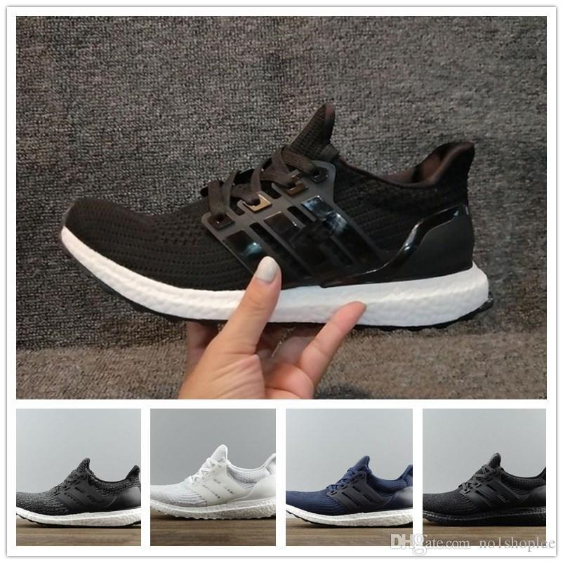 quality design 20a7e c16a5 Compre Zapatillas Running Big Size Ultra Boost 3.0 Triple Black Hombre  Zapatillas Deportivas Oreo Triple Blanco Cny Gris Ultraboost Primeknit  Women Sport ...