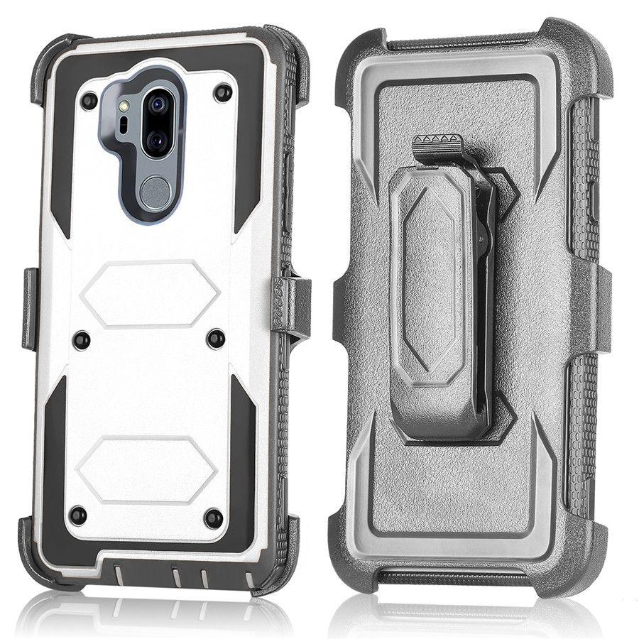 online store 6083e e90bd For Motorola Moto G6 Play Z3 Play E5 Plus Supra Play Eruise Case Belt Clip  Kickstand Cover Shock Proof Full Body Protective Case Tough Armor