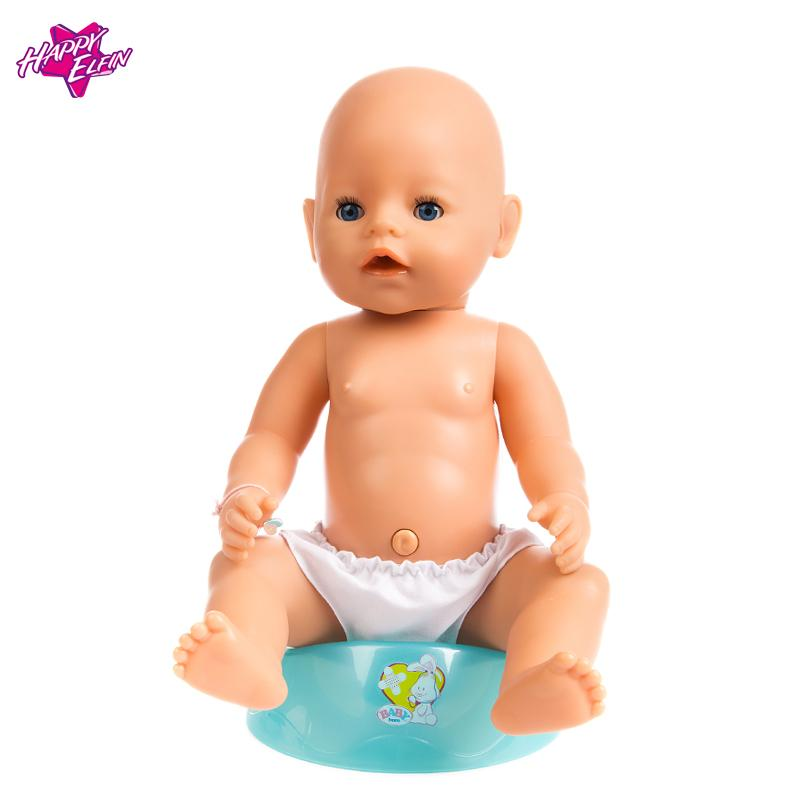 Doll Accessories American Girl Doll Clothes,Baby Born Zapf Clothes White Short-sleeved T-shirt for 16-18 inch Dolls