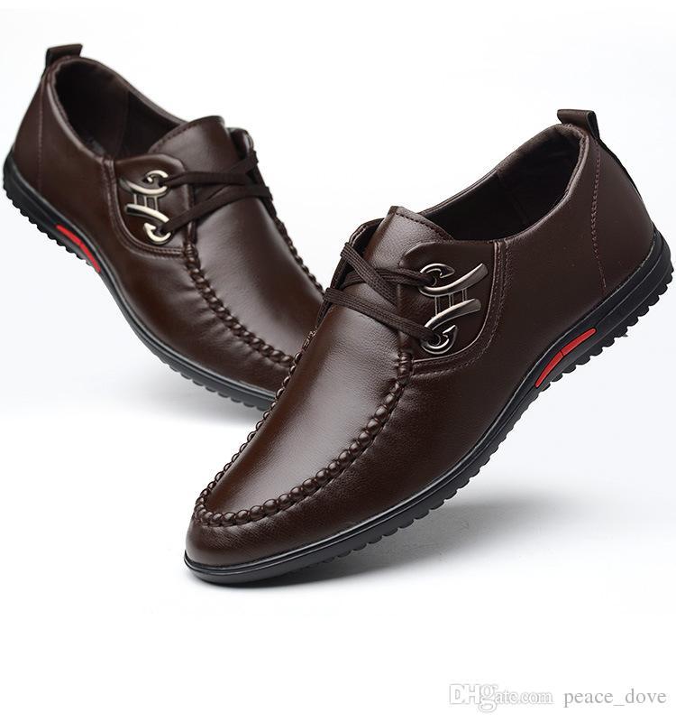 b2fe7757dd Compre Zapatos Formales De Hombre Zapatos De Oficina De Cuero Zapatos  Clásicos De Hombre Zapatos De Hombre Sapato Masculino Heren Schoenen Zapato  Hombre ...