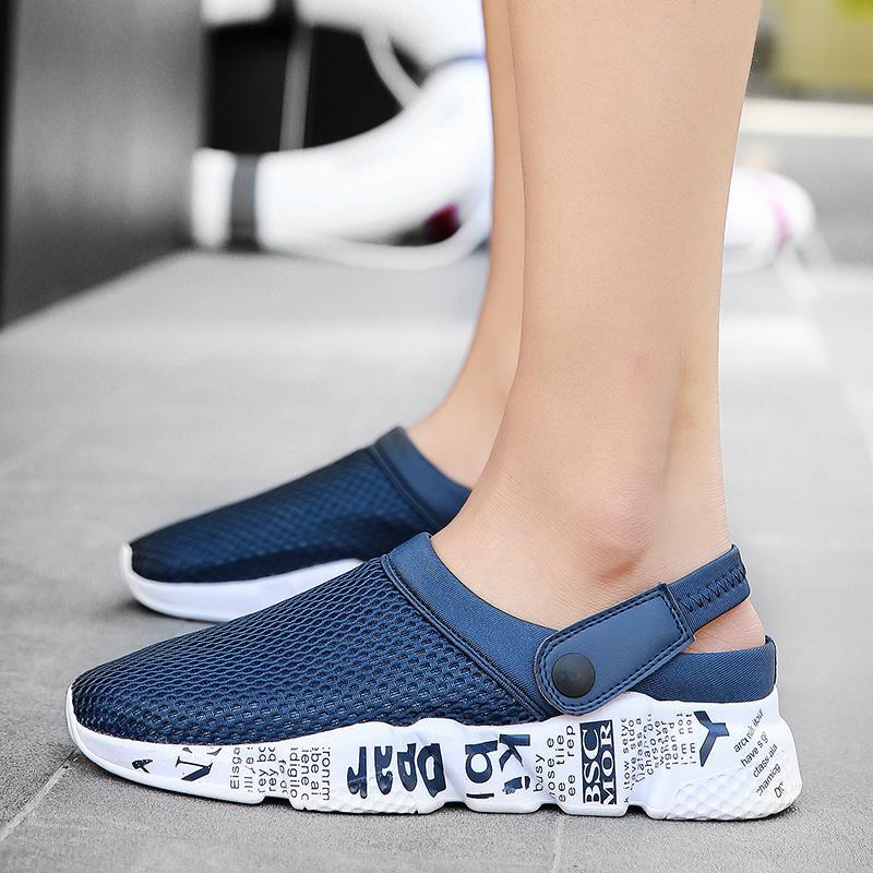 Acquista Unisex Casual Sandali Scarpe Moda Traspirante Mesh Shoes Estate  Uomo Sandali Pantofole Da Uomo Economici Walking A  25.54 Dal Amoyshoes  2a7533e7dce