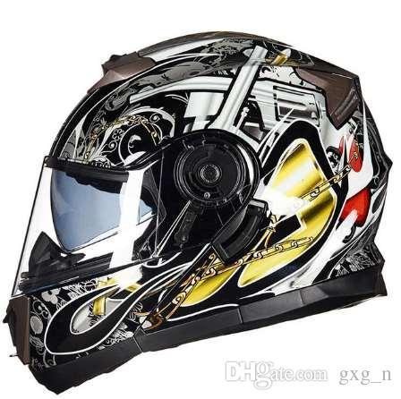 a6861fb2315 Compre Casco De La Motocicleta De Invierno Flip Up ABS De Los Hombres De  Alta Calidad Caliente Moto Moto Scooter Casco Moto Cascos Transpirables A   153.77 ...
