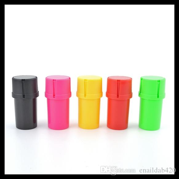 Haute Qualité En Plastique De Stockage Du Tabac Aux Herbes Épice Broyeur 50mm De Diamètre 3 pièces Tabac À Fumer Accessoires