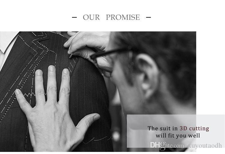 2018 Men Suits Black Shawl Lapel Wedding Suits For Man Bridegroom Groom Slim Fit Tuxedos Formal Prom Blazer Evening Dress Best Man