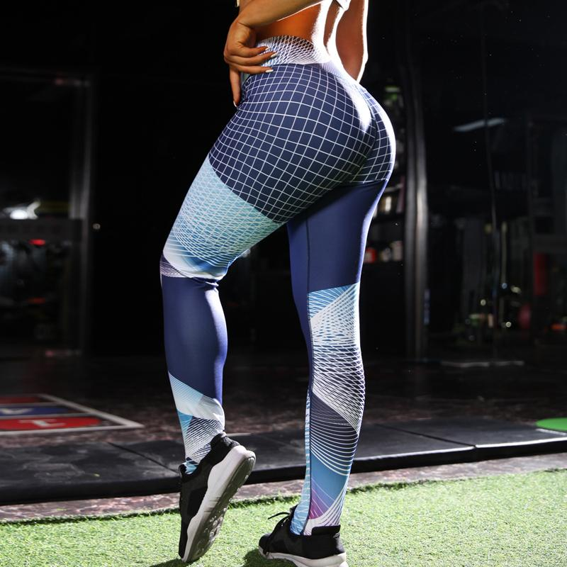 d364db141b Hot Women Energy Seamless Tummy Control Yoga Pants Stretchy Gym ...