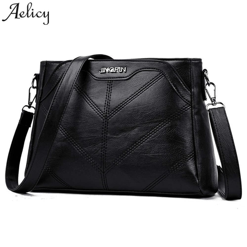 d51fc5173d6d 2019 Fashion Aelicy 2018 Luxury Handbags Women Bags Designer Brand Female  Crossbody Shoulder Bags For Women Leather Sac A Main Ladies Bag Messenger  Bags ...