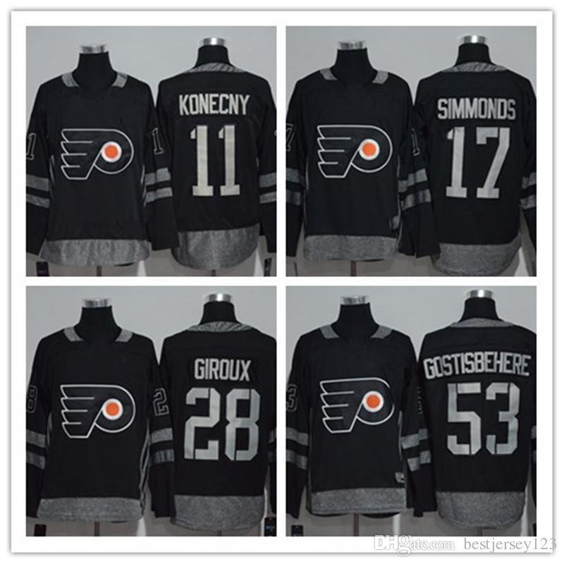 c4a2eed9d48 100th Anniversary Philadelphia Flyers 53 Shayne Gostisbehere 28 ...