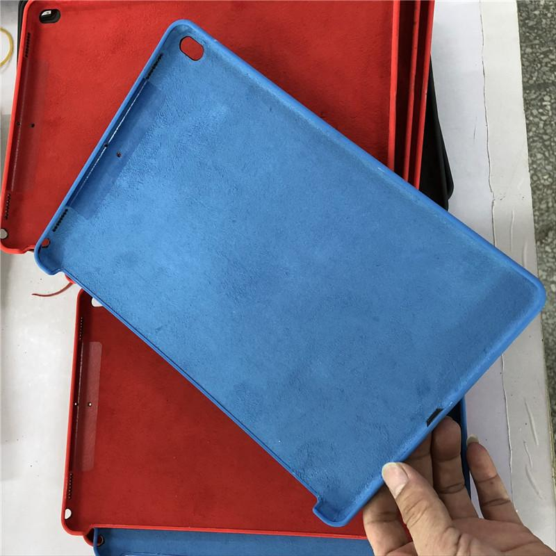 best service 8e603 31e1e For Ipad Silicone Case Official original Touch Silicon Back Cover cases  with paper Box for Apple Ipad Pro 10.5 9.7 inch 2018 new ipad sale
