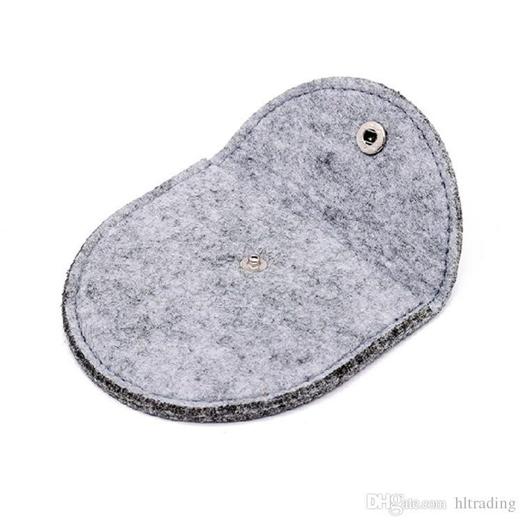 Felt cloth baby Coin Purses cute Candy colors children wallet mini pocket money coin Storage bag C4417