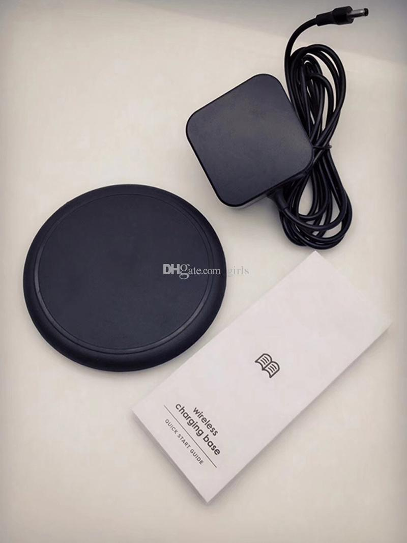 Wireless Charging Base For iPhone X 8 iPhone8 Plus Universal charge Pad for Wireless 7.5W QI Charge phones Black with Retail Box