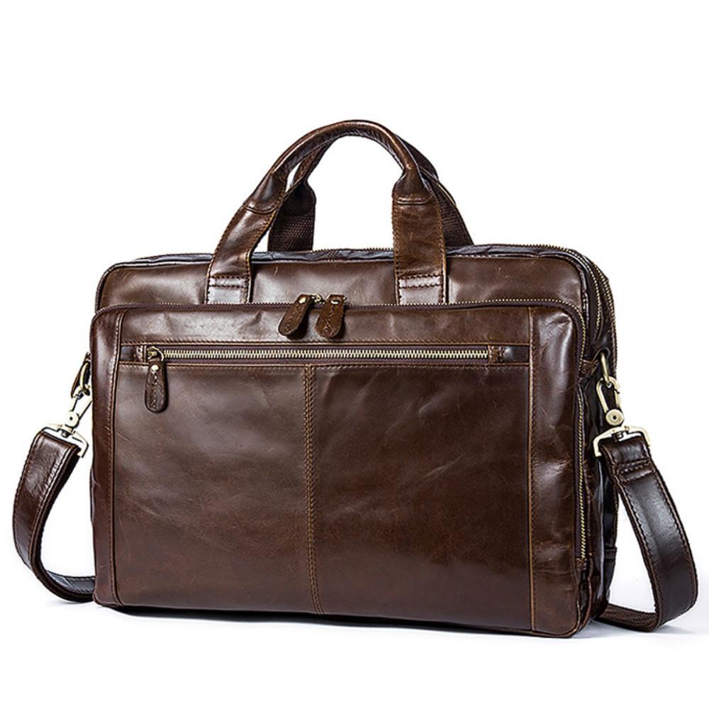 b5b44140491 Men s Briefcase Male Genuine Leather Men Bags Messenger Bag Men s ...