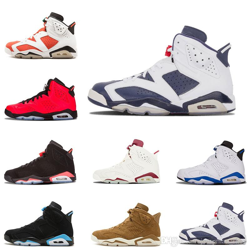 bc477625e8494a Cheap 6 Golden 6s VI Harvest Wheat Gatorade Unc Men Basketball Shoes Black  Cat Infrared Carmine MAROON Sports Sneakers Size US 8-13 Basketball Shoes 6  6s ...