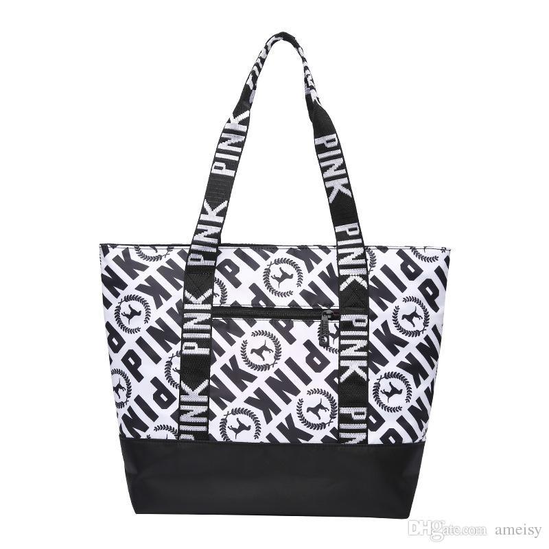 Latest Brand Designer Luxury Handbags Purses For Women Tote Pink Nylon  Designer Handbags Ladies Purse Sac A Main Borse Leather Briefcase Wholesale  Handbags ... 222c2c88bba21