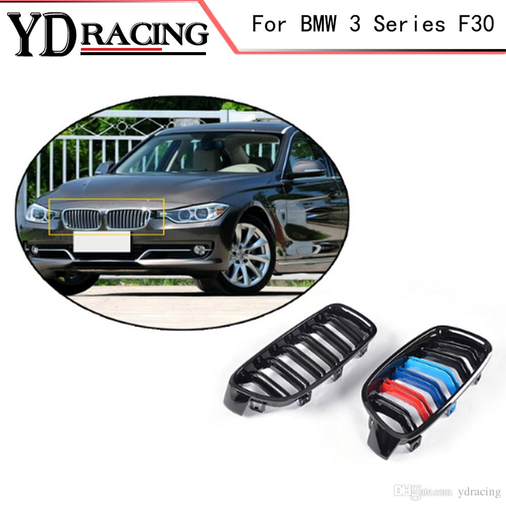 2019 3 Series F30 Abs Mesh Gloss Auto Front Grill Grille For Bmw F30