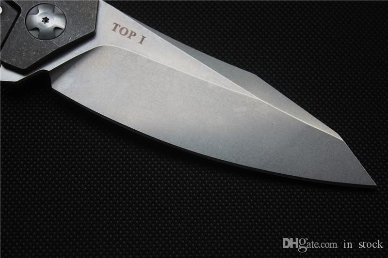 High quality Viteli TOP1 Flipper pocket knife Folding blade 100% S35VN camping hunting knives Survival tools Tactical EDC knife Xmas gift