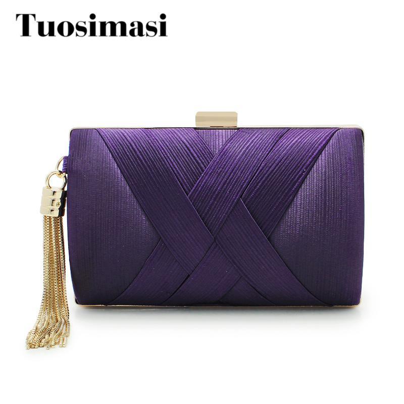 Retro Purple Fashion Ladies Purse Small Day Clutch Chain Bag Shoulder Bag  Dinner Handbags Female Wedding Clutch Evening Bags Evening Bags Chain Bag  Fashion ... 66e77caa12d35