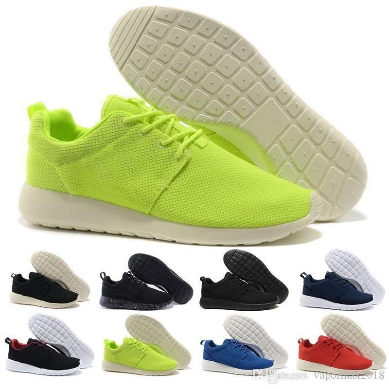 new york 51e56 2bc87 Acheter 2018 Chaussures Rouge Mode Hommes Femmes Sport Running London  Olympic Courses Chaussures De Marche Sporting Chaussures Sneakers 36  45Livraison ...