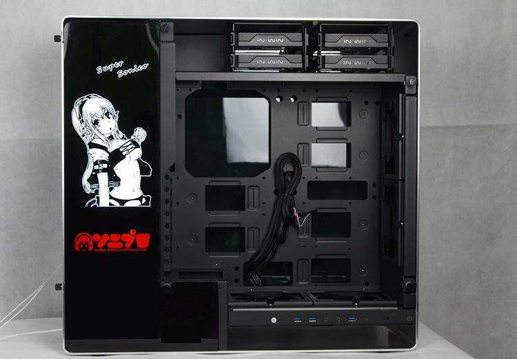 Custom-made Case Backplate Light Board Cover Size 440*140mm 4Pin use for  Computer Case Display Liquid Cooling B