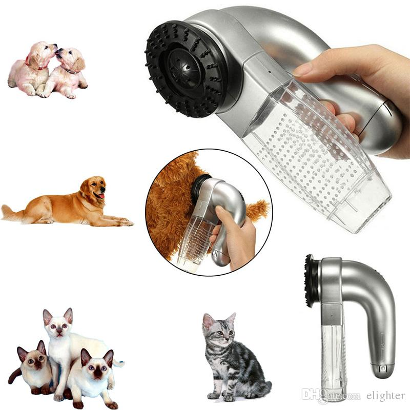 2019 electric cat dog grooming trimmer fur hair remover vacuum rh dhgate com