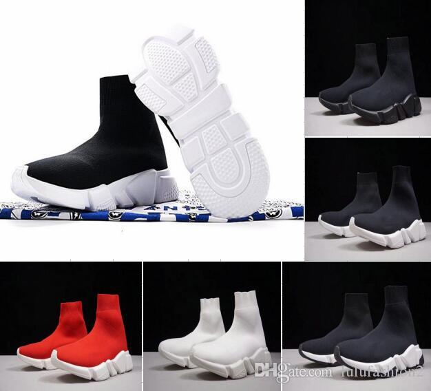 470e9edf9abe 2017 Speed Sock High Quality Speed Trainer Running Shoes For Men And Women  Sports Shoes Speed Stretch Knit Mid Sneakers