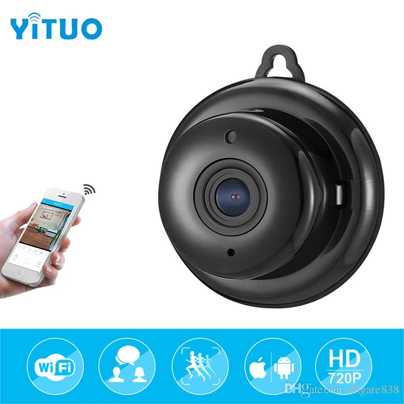 HD 720P 1.0mp Wireless Mini WIFI Night Vision Smart Home Security Wireless Wifi IP Camera Onvif Monitor Surveillance Baby Monitor YITUO