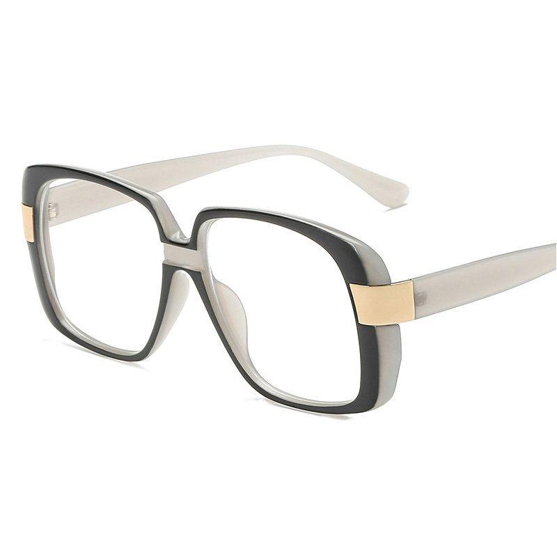 a560f88e44ee 2019 2018 Classic Male Square Eyeglasses Frame Brand Designer Fashion Women  Decoration Optical Glasses Reading Glasses NX From Bojiban
