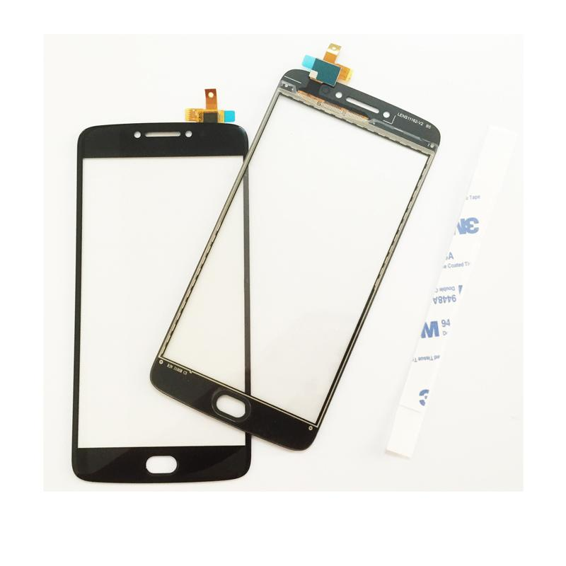 For Motorola Moto E4 Plus Moblie Phone Touchscreen Sensor Touch Screen  Touch Panel Glass Replacement Parts
