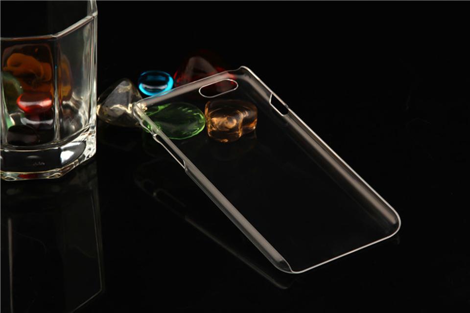 Estuche rígido transparente para iPhone X 8 7 6 6 s Plus 5S 5 SE Funda Slim MOQ