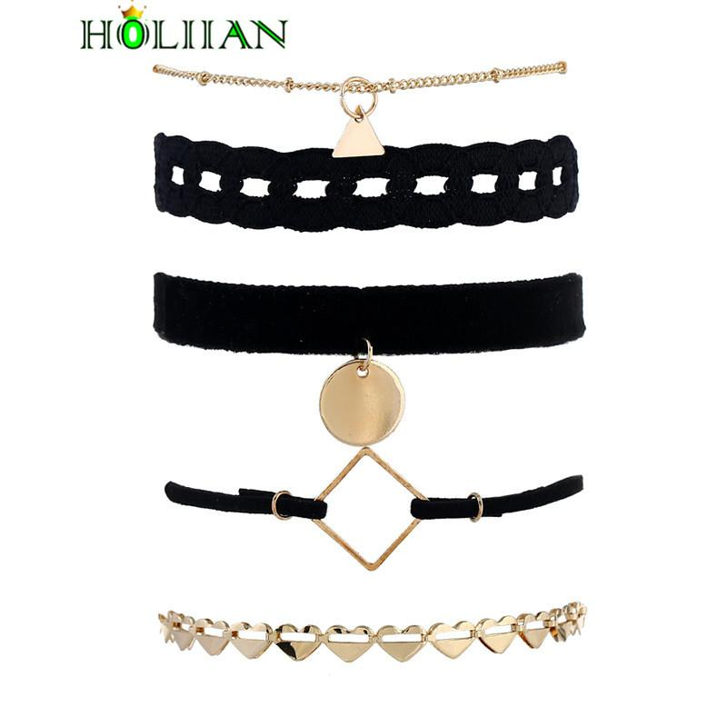 Women boho gold-color alloy Bracelets set ethnic chain vintage bracelet set Bohemia cloth iron maxi statement jewelry femme