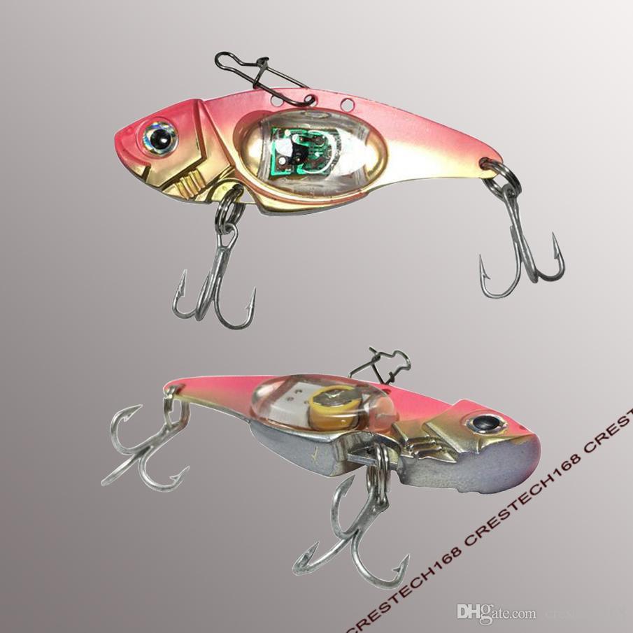 LED anzuelos de pesca LED gota profunda forma de ojo submarino pesca calamar peces señuelo luz intermitente lámpara