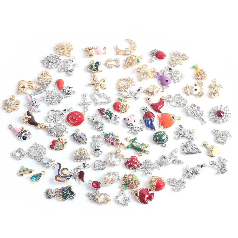 31*13mm Antique Silver Plated Crystal Ballerina Dancer Girls Charms Pendants For Bracelet Jewelry Making DIY Handmade