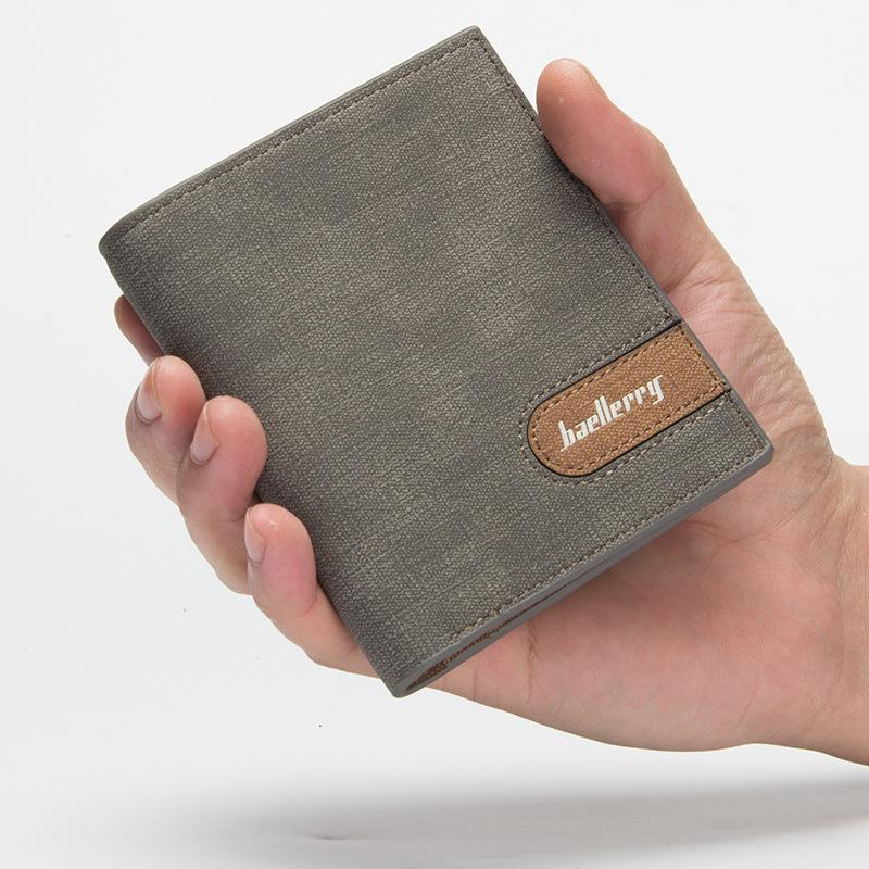 86901022300fd Baellerry Brand New Style Men S Wallets Bussiness Short Wallets Hot Sale  Good Quality Fashion Solid PU Small Wallets Wallet Purse From Bluemoodd