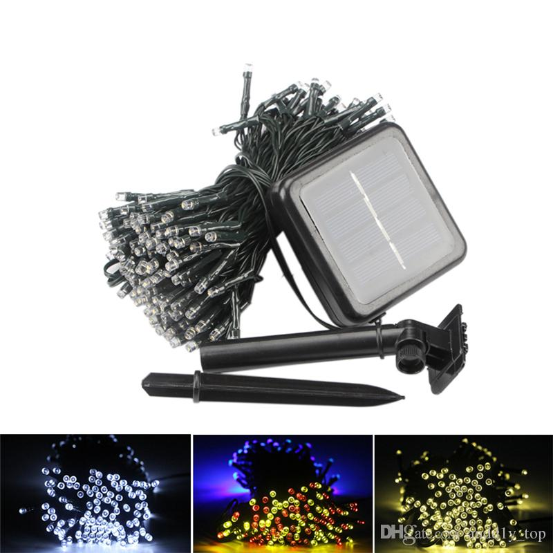 Solar Lamps LED String Lights 100/200 LEDS Outdoor Party Christmas Tree Decor Garlands Solar Lawn Garden Lights Waterproof
