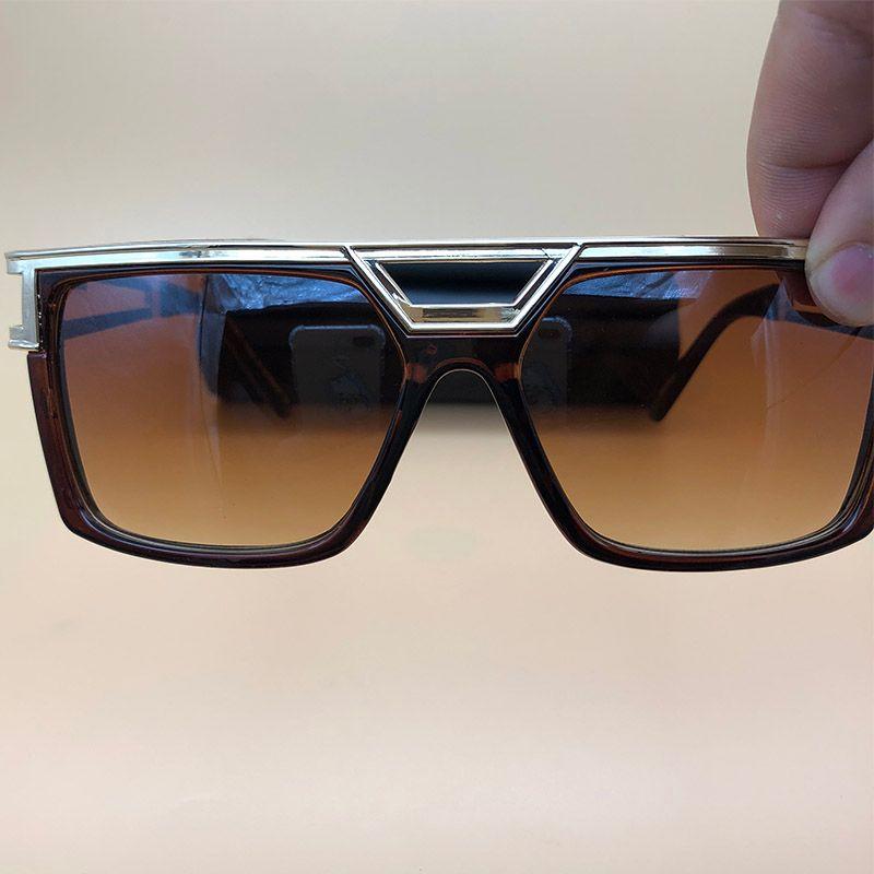 e0e624d1e6a Summer 2018 Sunglasses Mens Womens Brand Designer Sun Glasses Black ...