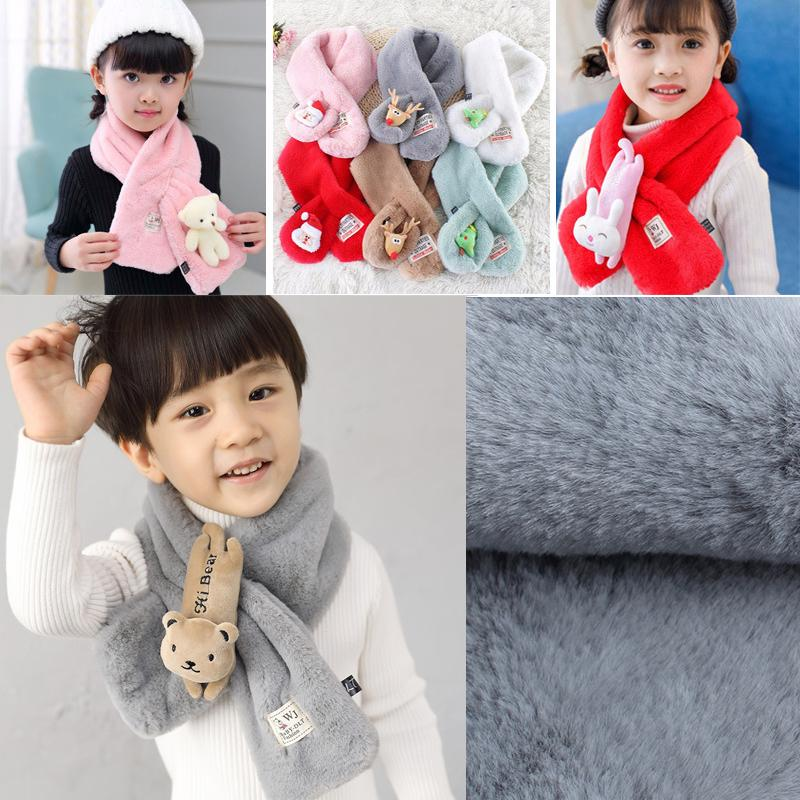 Girl's Scarves Apparel Accessories 1pc Baby Cotton Scarf Fashion Autumn Winter Cute Baby Warm Boys Girls Children Stars Collar Scarf Children Neck Scarves Beautiful And Charming