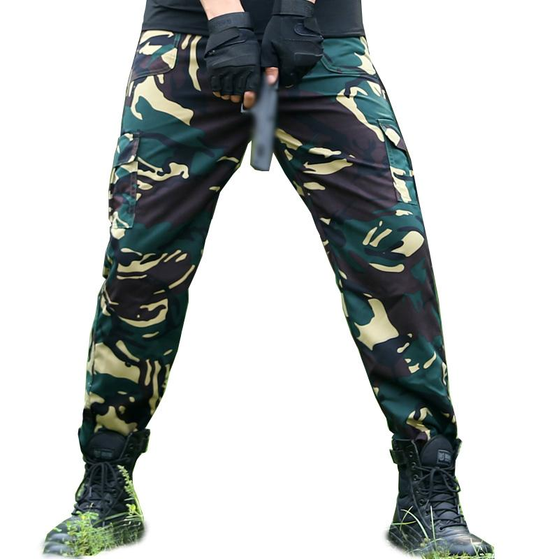 33a56f2266b87 2019 Tactical Camo Hunter Cargo Pants Men Military Clothing Camouflage Mens  Trousers Kargo Pantalon Tactico Hombre SWAT Special Force From  Mingmusic002, ...