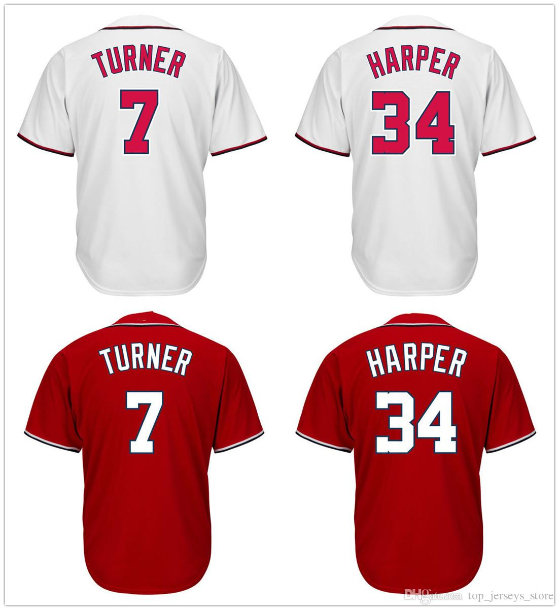 separation shoes 42fb6 c0a81 reduced trea turner red jersey 8170f 54ed7