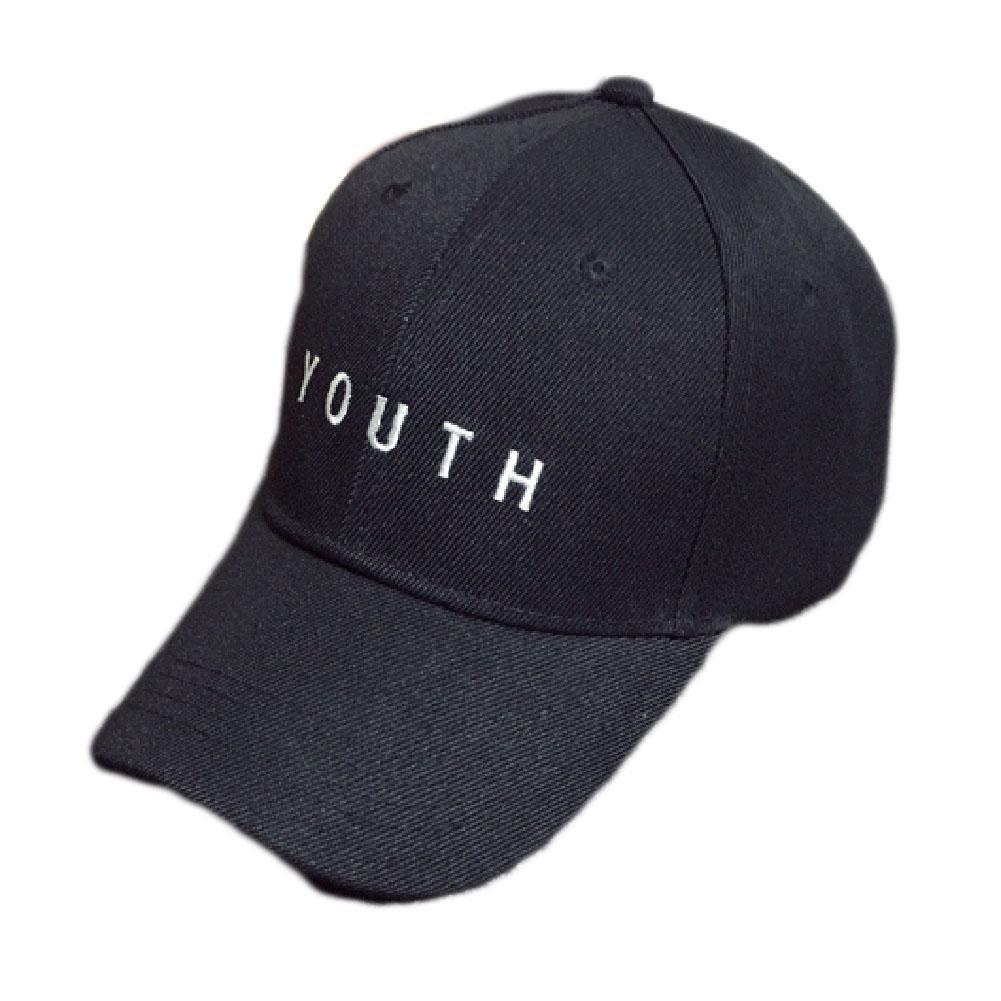 2018 Fashion Cap Women Men Summer Spring Cotton Caps Women Letter Adult baseball Cap Black White Hat Snapback Women Cap
