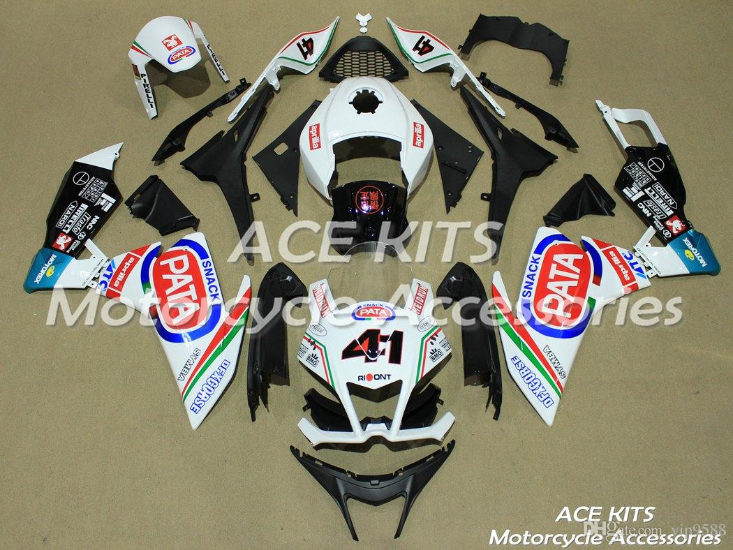 ACE Motorcycle Fairings For Aprilia RS4 50/ 125 2011 2012 2013 2014 2015 Compression or Injection Bodywork Black Red No.609